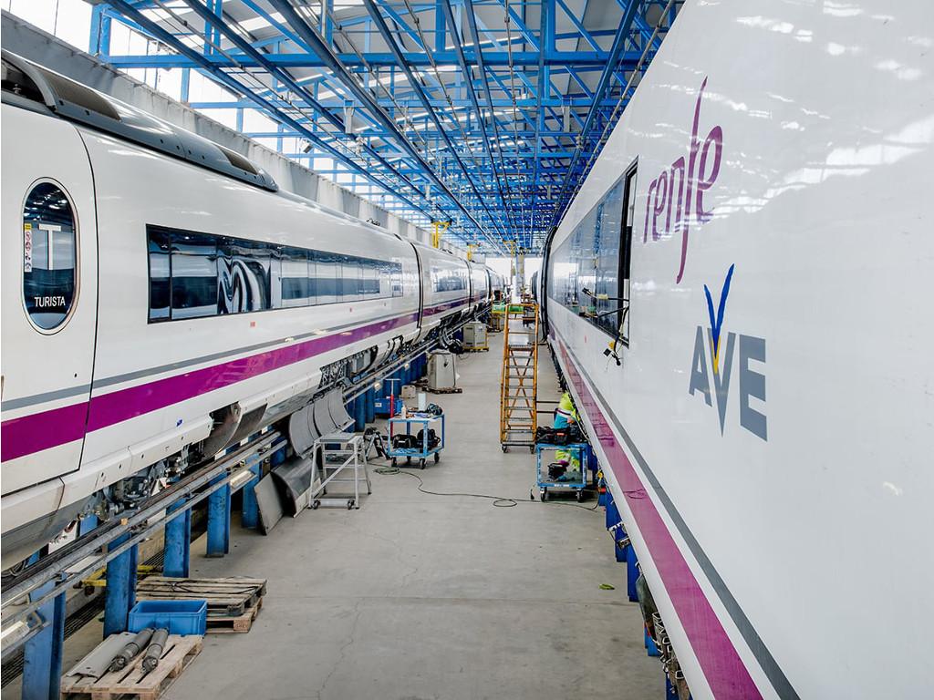 Mantenimiento de material rodante ferroviario